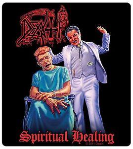 Sticker Death Spiritual Healing Album Cover Art American ...