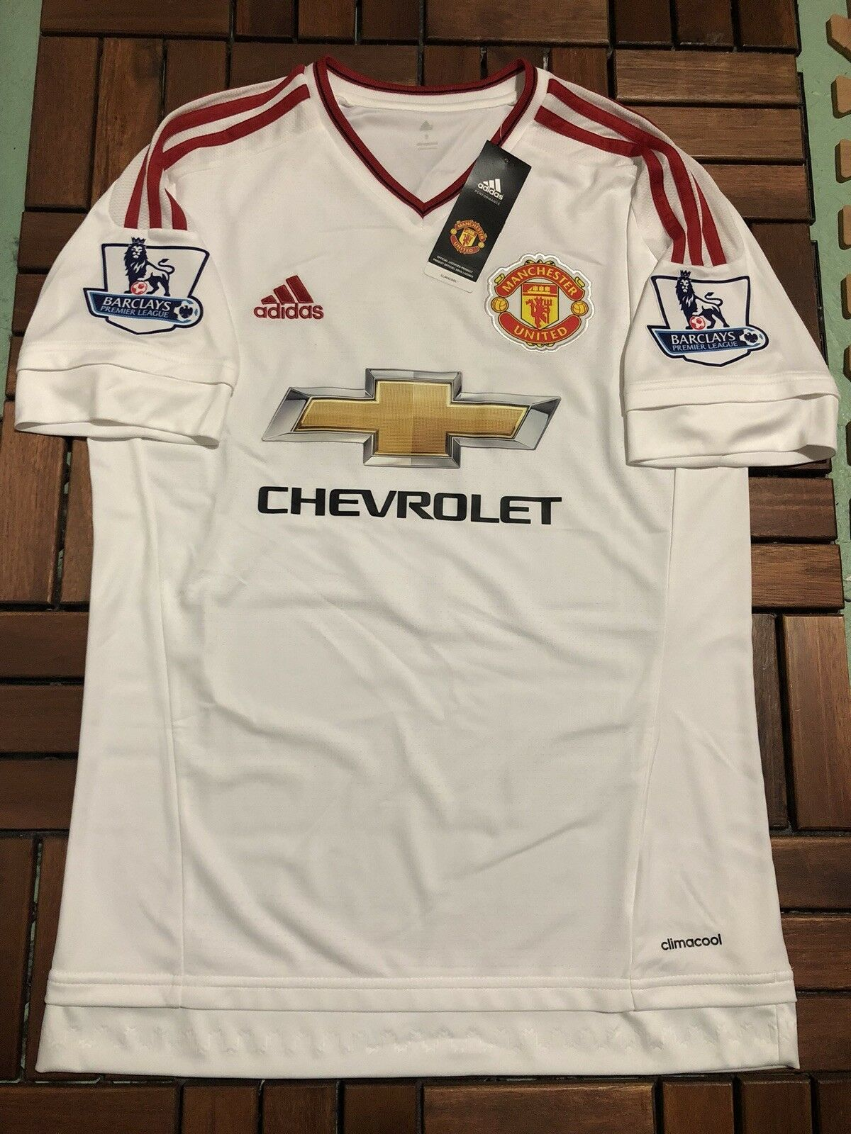 Manchester United 201516 Premier League Away Shirt  9 Anthony Martial    S BNWT