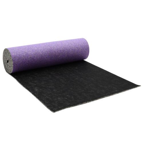 Purple/&Black Carpet Underlay Roll 12mm Thickness Foam Flooring Underlay Mat Home