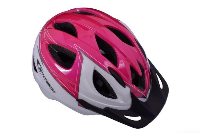 Ammaco Boys In Mould Childrens Kid Safety Cycling Bike Helmet Visor Blue 46-53cm