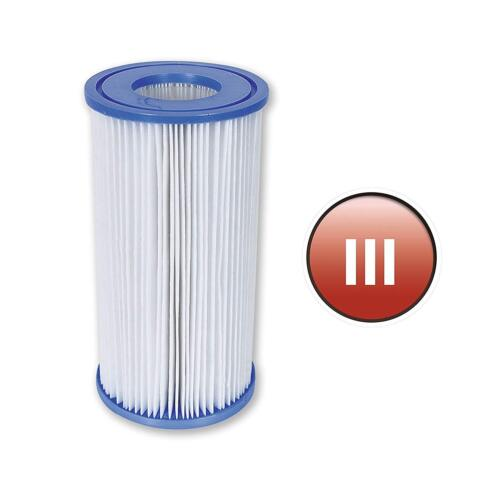 Blue Bestway Pool Filter Cartridge Size 3