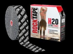ROCK TAPE nastro kinesiologico Bulk Tape 5cm x 32m - H2O Black Logo - Italia - ROCK TAPE nastro kinesiologico Bulk Tape 5cm x 32m - H2O Black Logo - Italia