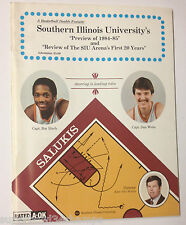 1984-85 Southern Illinois University Basketball Media Guide Salukis