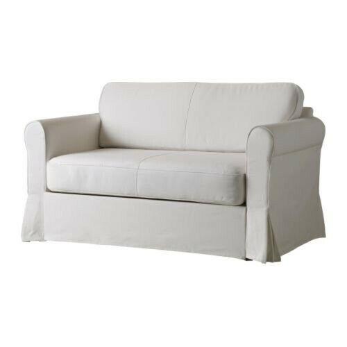 Ikea Hagalund 2 Seat Sofa Bed Cover