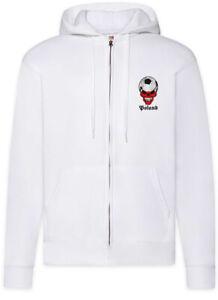 Classic-Poland-Football-Skull-Flag-Zipper-Hoodie-Flagge-Fan-Fussball-Polen