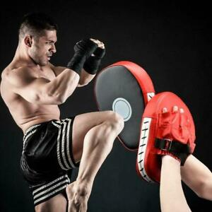 Boxen-Stanzen-Gebogenes-Ziel-Fokus-Punch-Mitt-Pad-Training-Handsch-Sparring-P3X7