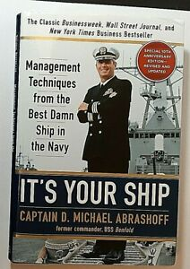 It-039-s-Your-Ship-Signed-by-Capt-Michael-Abrashoff-Autographed-Hardback