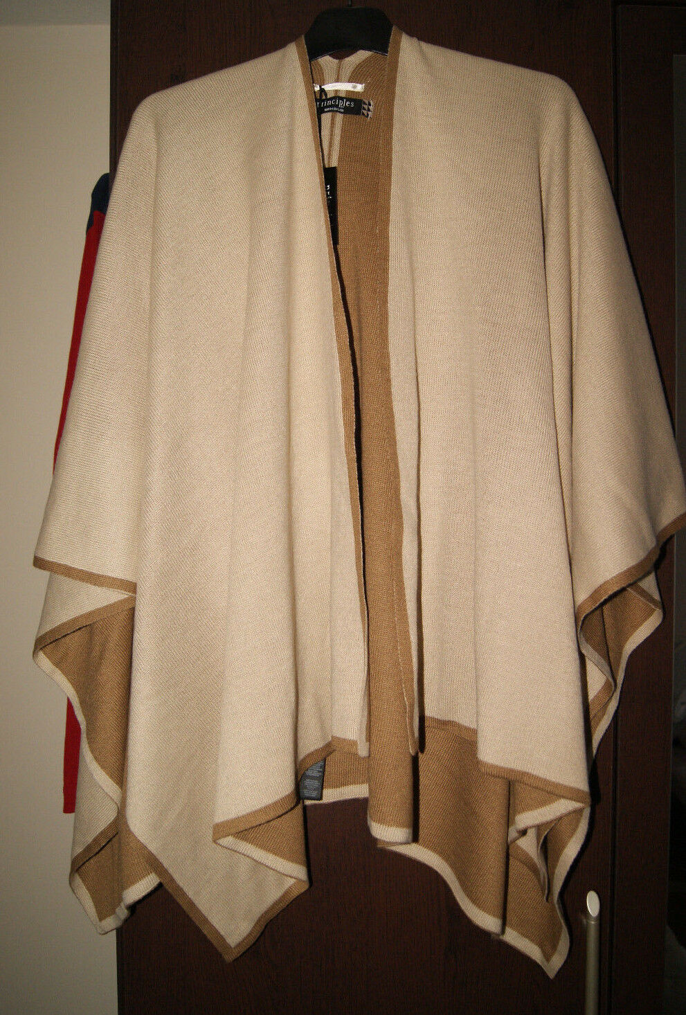 Principles Ben De Lisi BNWT Ladies Cape Poncho Shawl Over Wrap Cardigan One Size