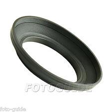 Gegenlichtblende Gummi 77 mm Weitwinkel Lens Hood Sonnenblende