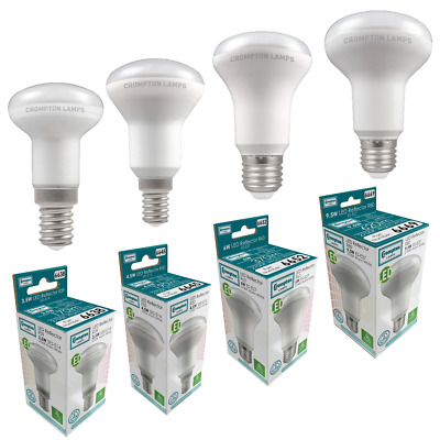 Crompton LED R50 R39 R80 R63 Reflector SES ES 2700k Warm White