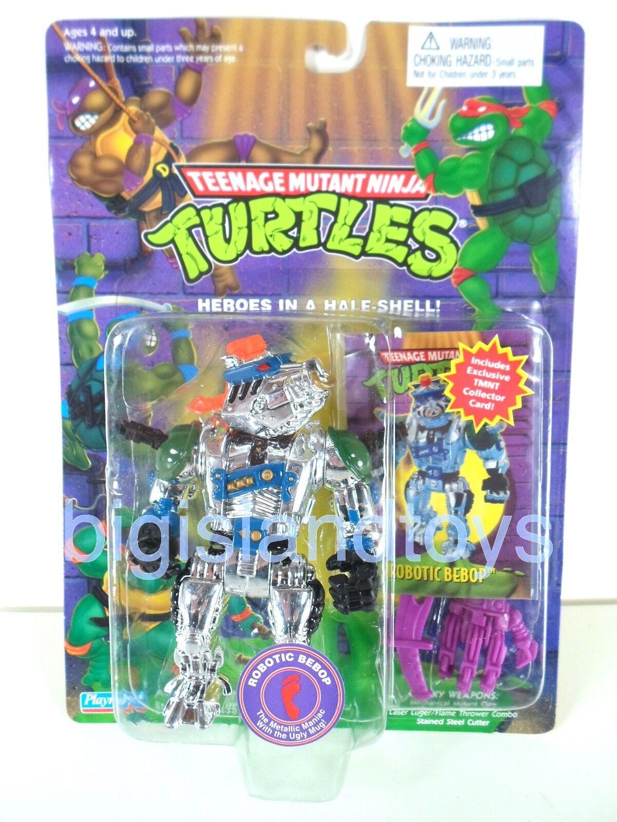 1994 Playmates Toys Teenage Mutant Ninja Turtles Robotic Bebop with Card Sealed