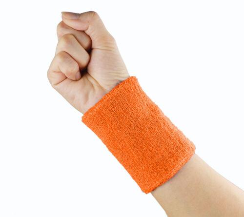 Yoga Sweatband Wristband Unisex Cotton Sweat Band Arm Band Basketball Gym