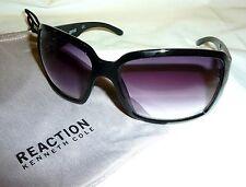 094ef6b313 Kenneth Cole Reaction Kc1086 Women s Oversized Wrap Sunglasses 000b5-150  Black