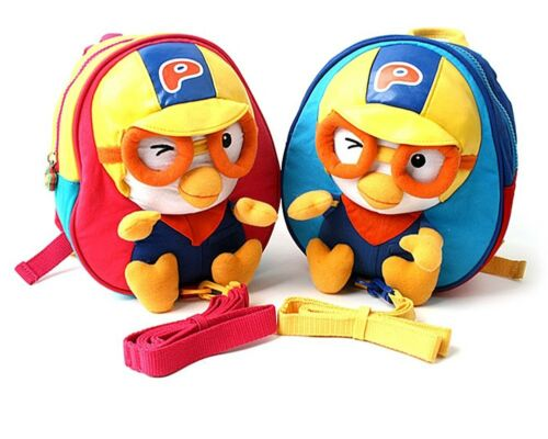 PORORO 3D Backpack Baby Kids Character Bag with Safety Harness US Seller