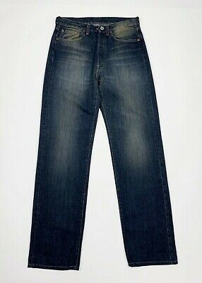 Iniziativa Replay 902 Jeans Uomo Usato W29 Tg 43 Gamba Dritta Vintage Denim Boyfriend T5549