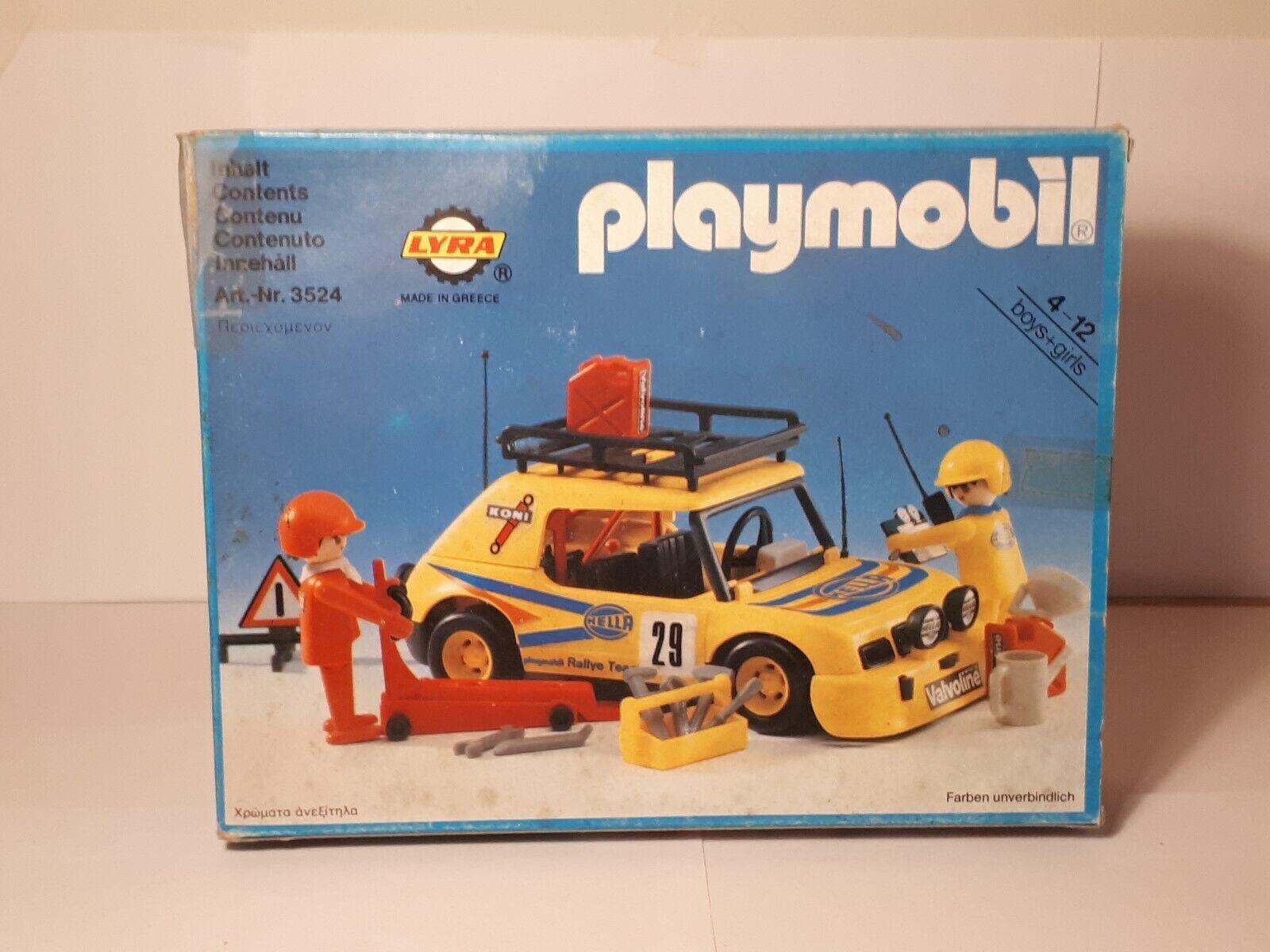 Playmobil LYRA - - rallye car - no.3524