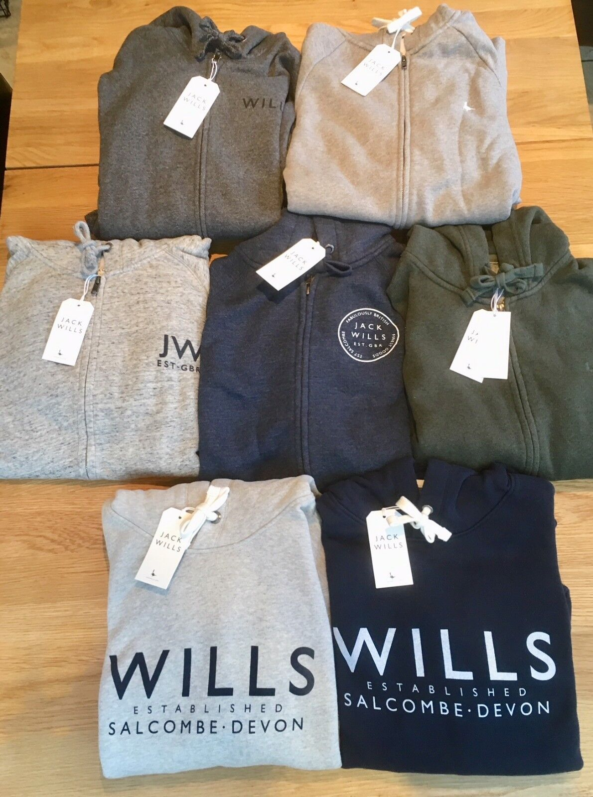 Various Jack Wills Hoodies. männer & damänner. XS-XL. Brand New with tags