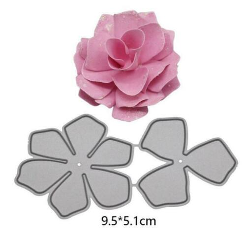 Cutting Dies Flowers Metal Stencil Paper Cards Die Cuts Photo Album Making DIY
