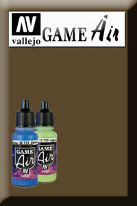 Game Air Beasty Brown 72743 Acrylic Paint Vallejo ChronoméTrage Ponctuel