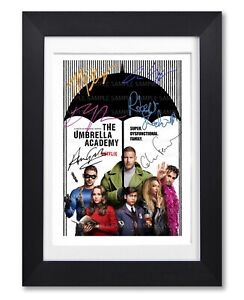 UMBRELLA-ACADEMY-CAST-SIGNED-POSTER-PRINT-TV-SERIES-SEASON-PHOTO-AUTOGRAPH-GIFT
