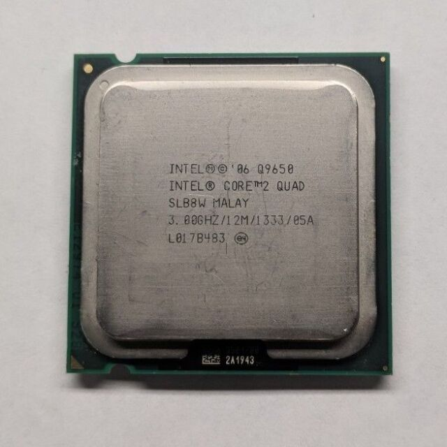Intel Core 2 Quad Q9650 3.0 GHz 12M SLB8W 4-Core Processor LGA 775 CPU 95W