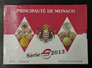 Monaco-Coffret-officiel-9-pieces-BU-Brillant-Universel-2013-ONU-Neuf