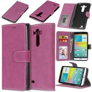 Rose-Premium-Matte-Wallet-Flip-Leather-Case-Cover-For-Various-Phones