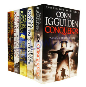 Conqueror-Series-5-Books-Young-Adult-Collection-Paperback-Set-By-Conn-Iggulden