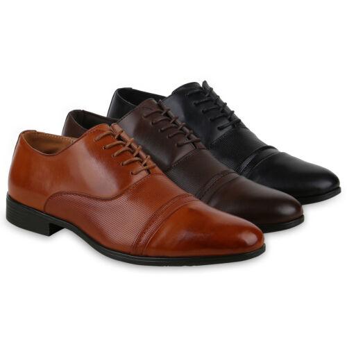 Herren Business Klassische Schnürer Abiball Halbschuhe Elegant 825334 Schuhe