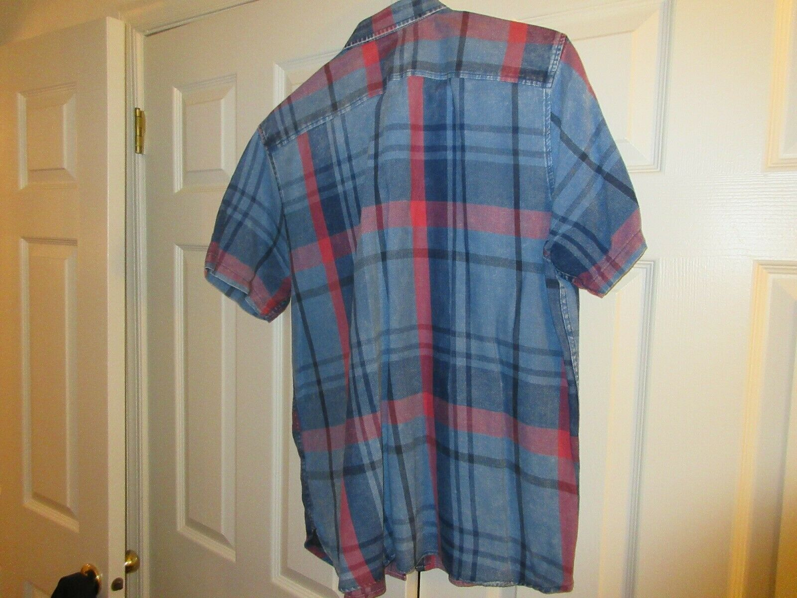 American Rag , Short Sleeve Men's Shirt , XL , 100% Cot