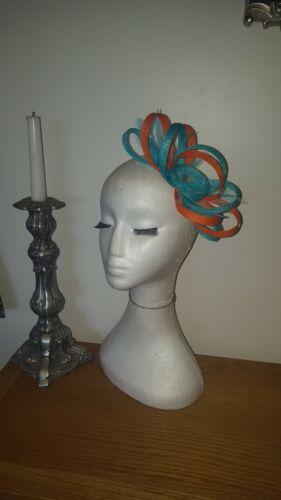 Turquoise//Lagoon et orange S//Hatinator pour mariage//courses
