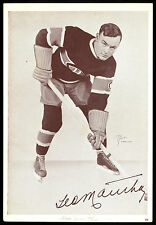 1935-40 STARCH CROWN BRAND 60 GEORGES MANTHA EX+ MONTREAL CANADIENS HOCKEY PHOTO