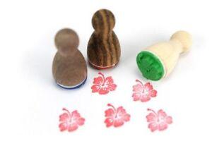 Mini-Stempel-Hibiskus-ab-6-St-auch-Motivuebergreifend-versandkostenfrei