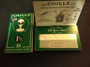 CHILLS-Green-1-1-2-Slow-Burn-HEMP-ROLLING-PAPERS-ONE-PACK