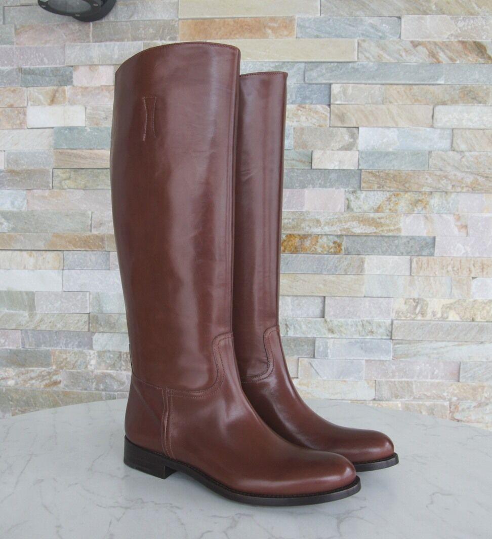 ... PRADA Bottes T 37,5 FEMMES BOOTS 1w948d Chaussures Shoes 1w948d BOOTS  Marron Nouveau Prix ... 54c601454c8b