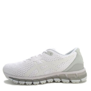 buy popular 1fdb5 aa72c Details about Asics GEL-Quantum 360 Knit 2 [T890N-100] Women Running Shoes  White/Grey