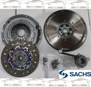 Sachs-ORIGINALE-ZMS-forza-e-Set-Frizione-zentralausrucker-AUDI-VW-1-9-TDI