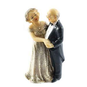 Details Zu Tortenfigur Hochzeits Figur Goldene Hochzeit Goldhochzeit Deko Dekoration Torte