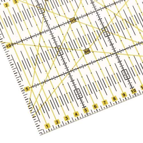 Patchwork Règle Artisanat Aiguille Outils de Couture Accessoires d/'Artisanat