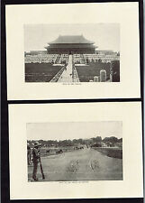 Hall of the Throne-Gate to the Temple of Heaven Forbidden City-China 1903 Prints