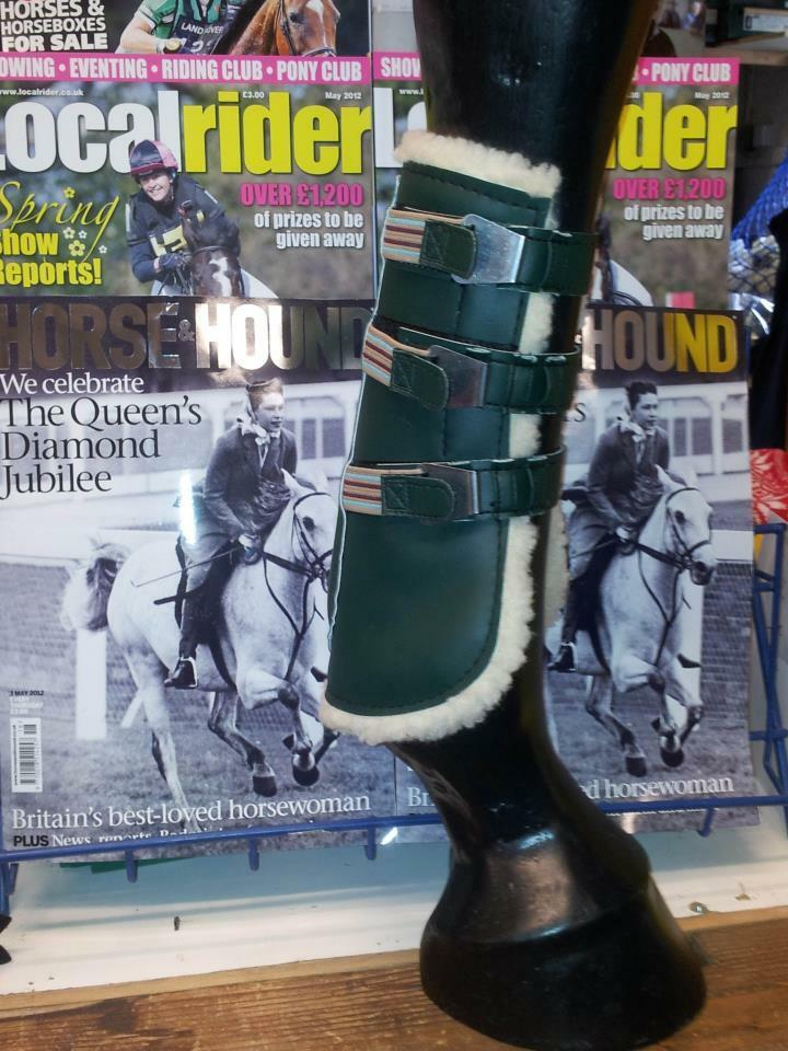 Clarendon TENDON Fur Lined Predective Showjumping Show Jumping Competition Boots