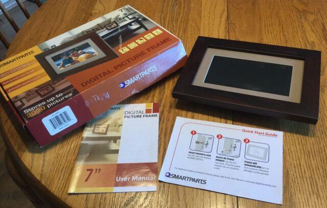 Smartparts Sp70br 7 Digital Picture Frame Ebay