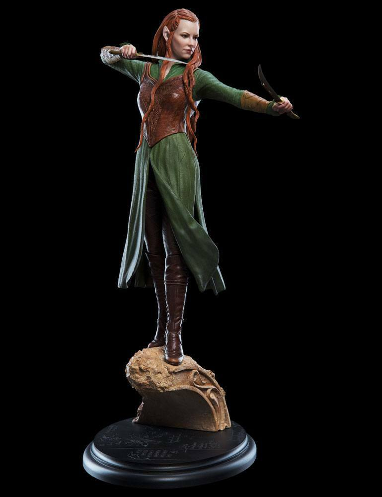 The HOBBIT the DESOLATION of SMAUG TAURIEL of the WOODLAND REALM 1 6 STATUE WETA