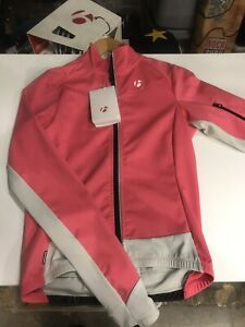 New-Bontrager-RXL-180-Softshell-Pink-Women-039-s-Jacket-Med-Cycling-Bike-Windproof
