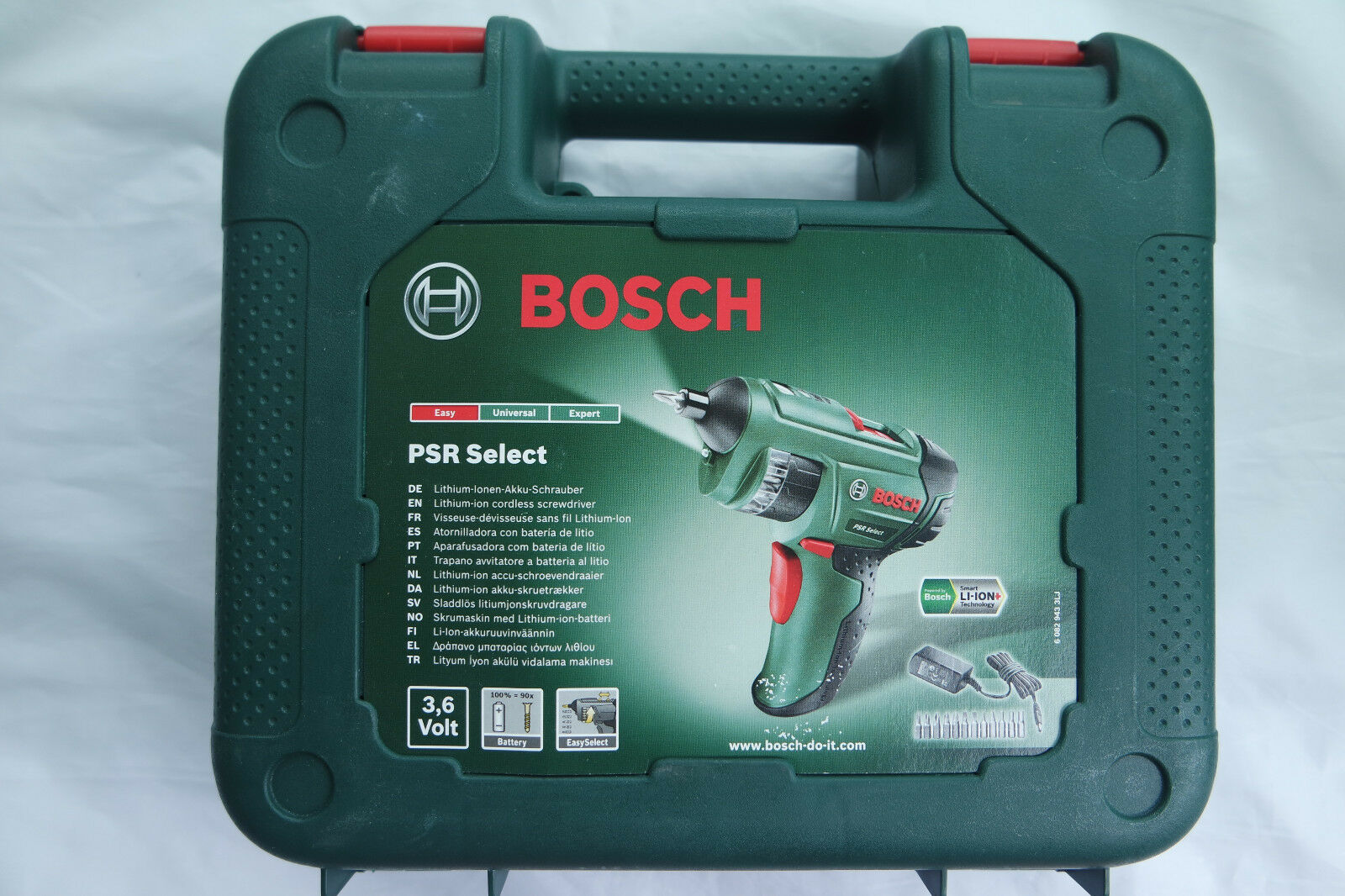 Bosch Akku-Schrauber Lithium-Ionen PSR Select 3,6V