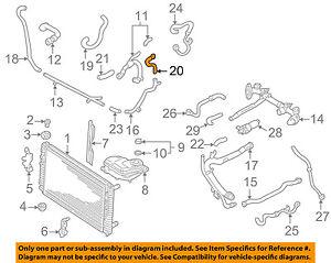 audi oem 00 04 a6 quattro 2 7l v6 radiator hose 8d0121109g ebay rh ebay com audi a3 radiator diagram Audi 2007 Radiator Cap