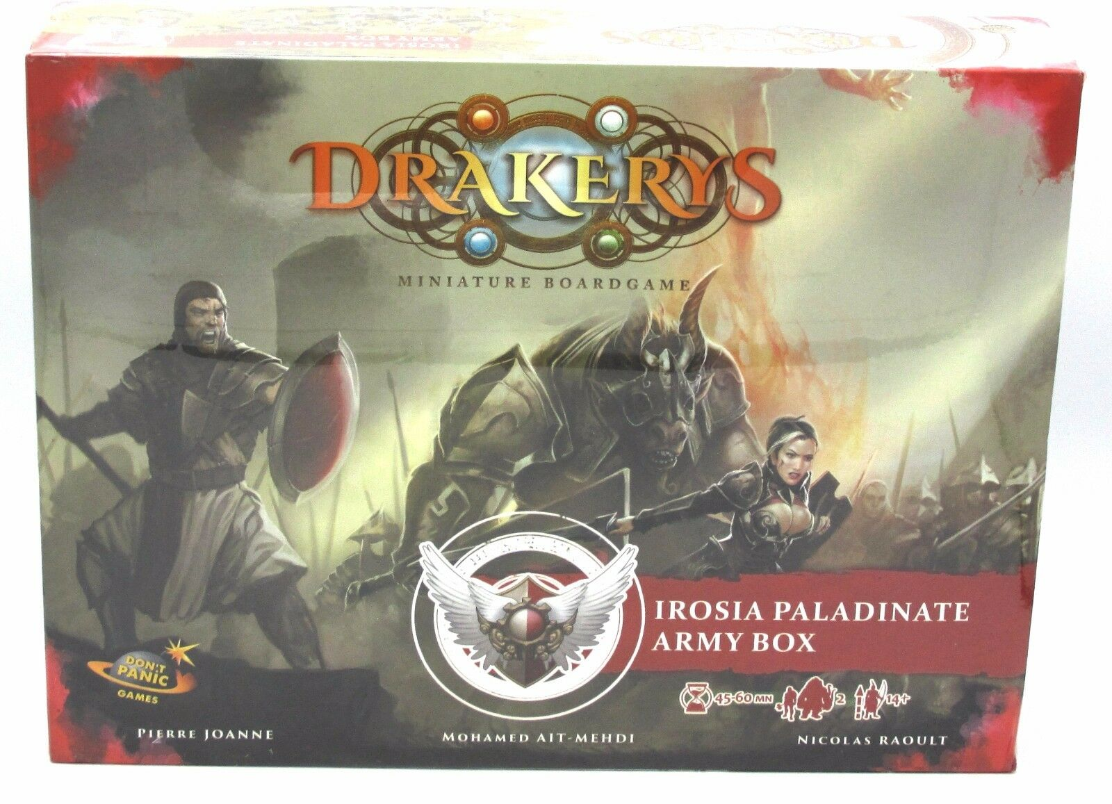 Drakerys IRAB2201 Irosia Paladinate Army Box Human Empire Infantry Hero Minotaur