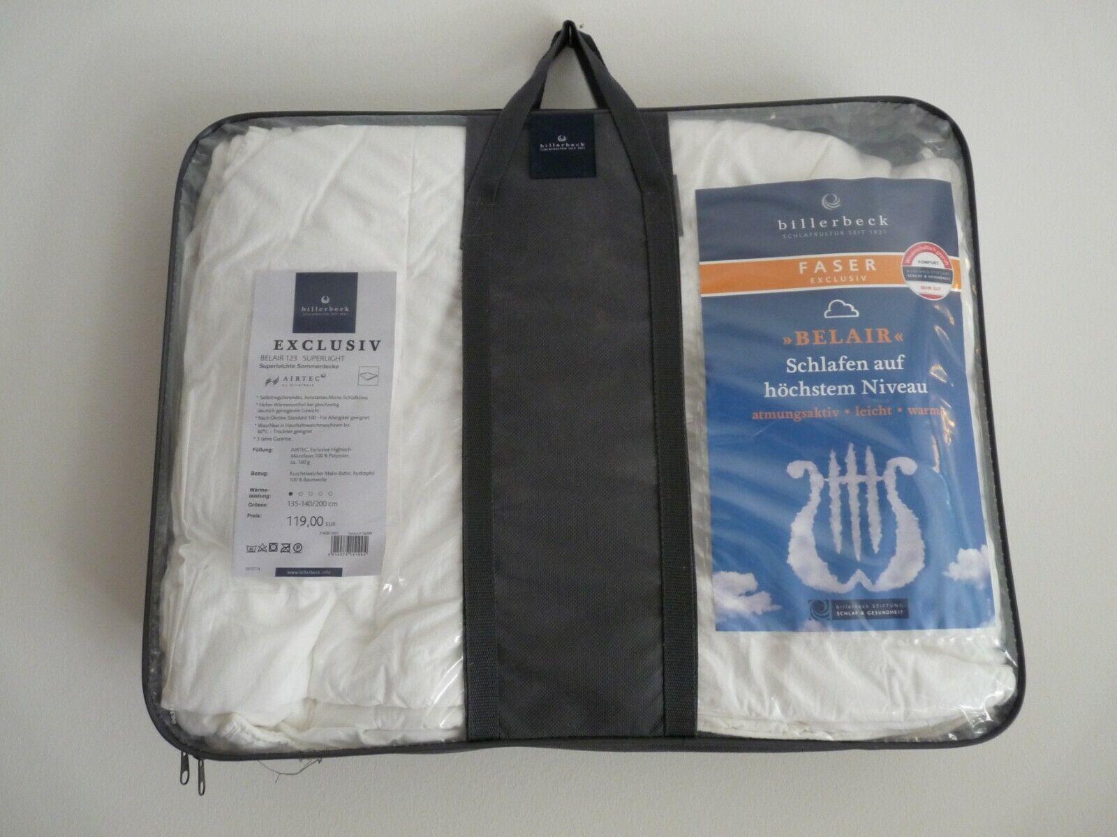 Billerbeck Super Lightweight Summer Blanket in Original Box, 135-140/200 cm