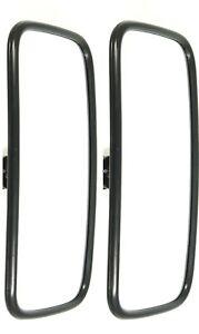 2x Außenspiegel Rückspiegel universal 250x160 mm Bagger Traktor BAUMASCHINEN LKW