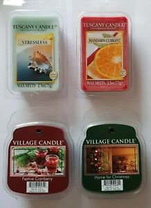 Village Candle & Tuscany Candle Wax Melts Assorted ...